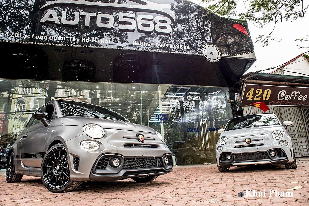 Ảnh Tổng quát xe Fiat 500 595 Abarth Esseesse 2020