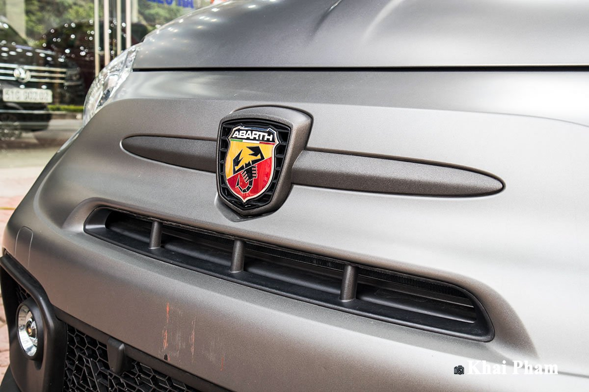 Ảnh Lưới tản nhiệt xe Fiat 500 595 Abarth Esseesse 2020