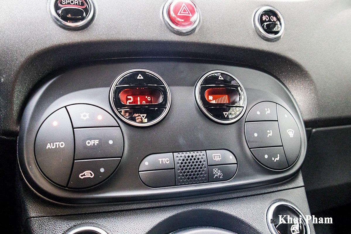 Ảnh Điều hoà xe Fiat 500 595 Abarth Esseesse 2020