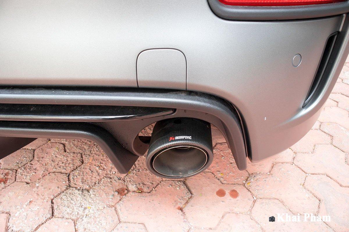 Ảnh Ống xả xe Fiat 500 595 Abarth Esseesse 2020 sáng