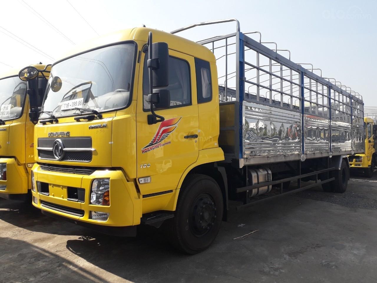 Xe tải Dongfeng 8 tấn B180 thùng dài 9m5 động cơ Cummins nhập khẩu  - hỗ trợ cho vay toàn quốc - 200tr nhận xe (1)