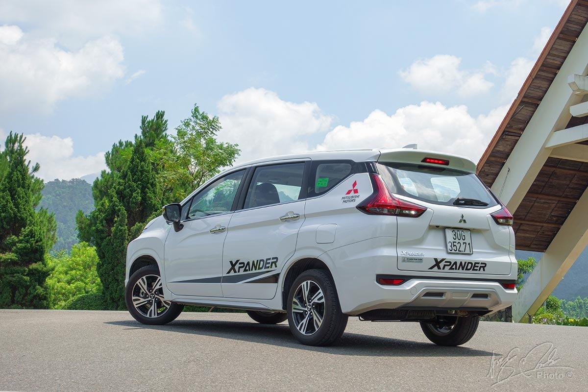 Mitsubishi Xpander bản AT được chuyển sang lắp ráp trong nước 1