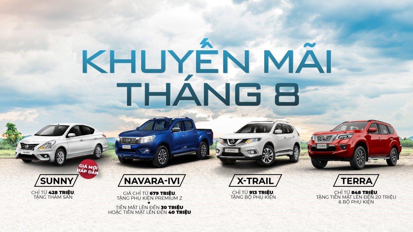 Nissan Việt Nam áp dụng ưu đãi hấp dẫn trong tháng 08/2020 1