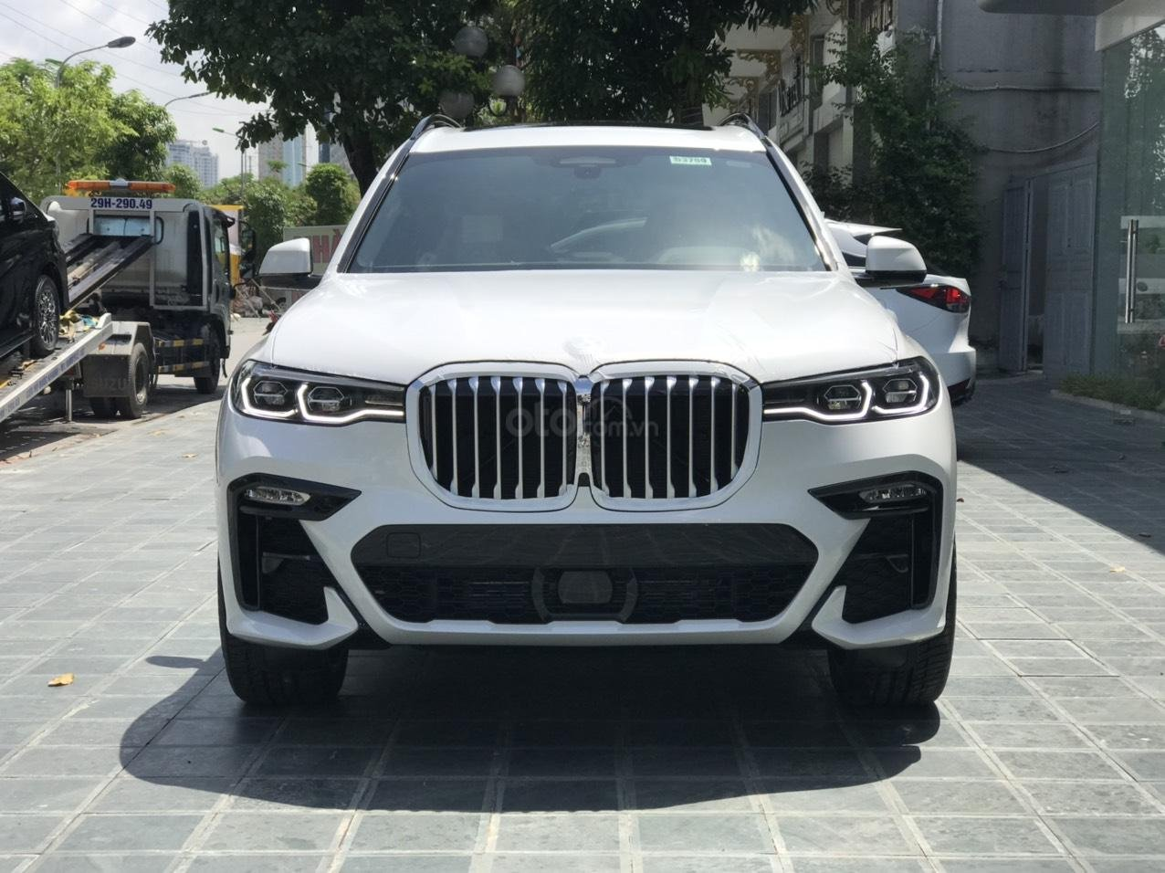 Bán ô tô BMW X7 xDrive 40i Msport SX 2020, màu trắng, nhập khẩu, mới 100% (1)