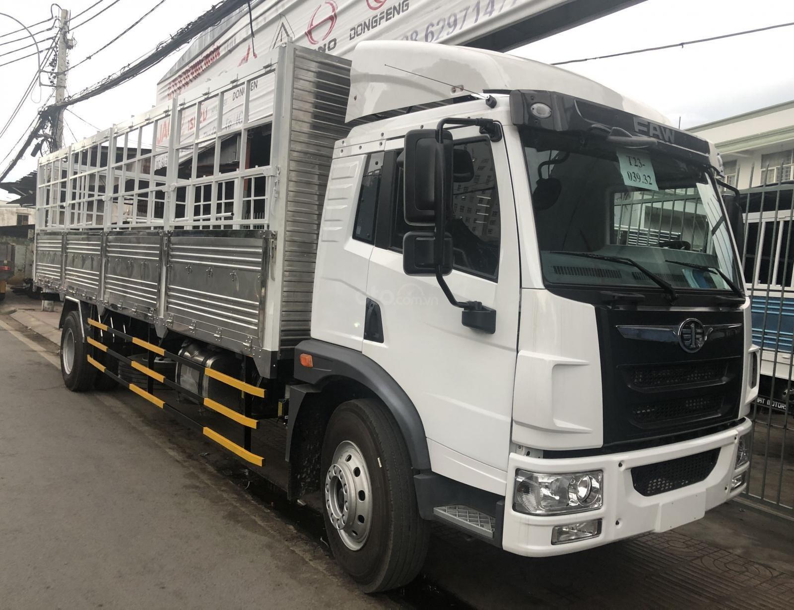 Xe tải FAW 8 tấn, thùng dài 8 mét, động cơ Wechai - trả trước 200tr - Km 100% lệ phí TB, tặng phiếu dấu 1tr (3)
