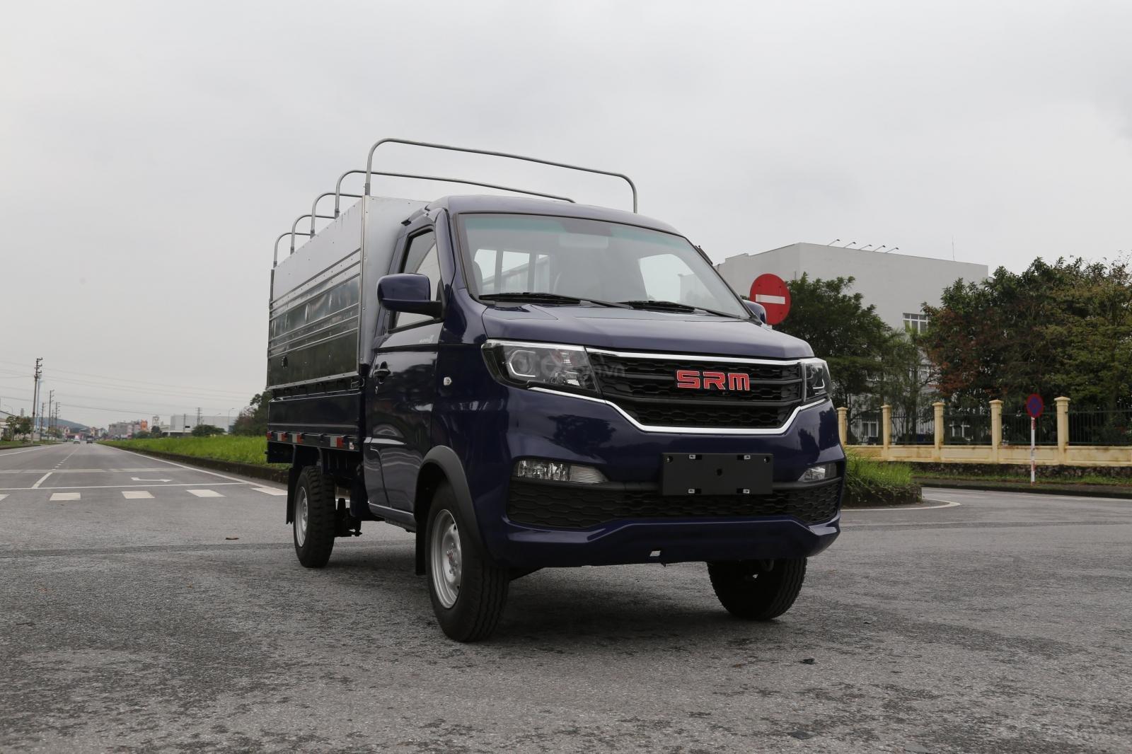 Bán xe tải nhỏ dưới 1 tấn SRM 930kg đời 2020 bản cao cấp 80tr nhận xe - Tặng 100% trước bạ - Tặng camera lùi (1)