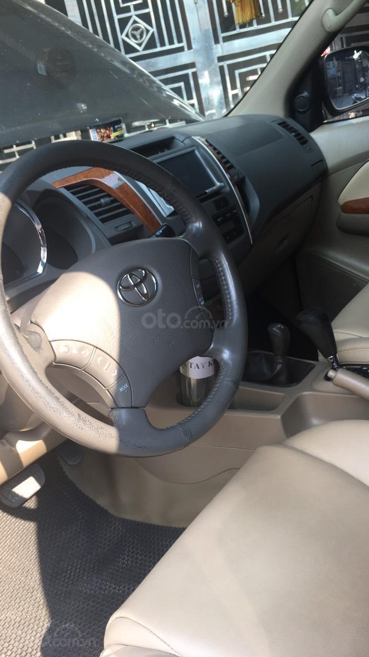 Cần bán gấp Toyota Fortuner đời 2011, xe gia đình đi giữ gìn, mới và đẹp (11)