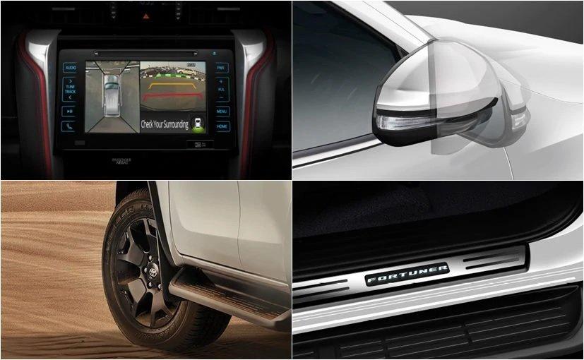 Toyota Fortuner TRD Limited Edition tích hợp công nghệ hiện đại.