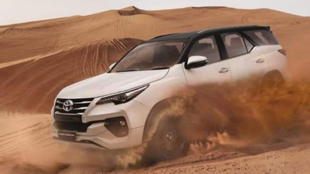 Toyota Fortuner TRD Limited Edition số lượng hạn chế.