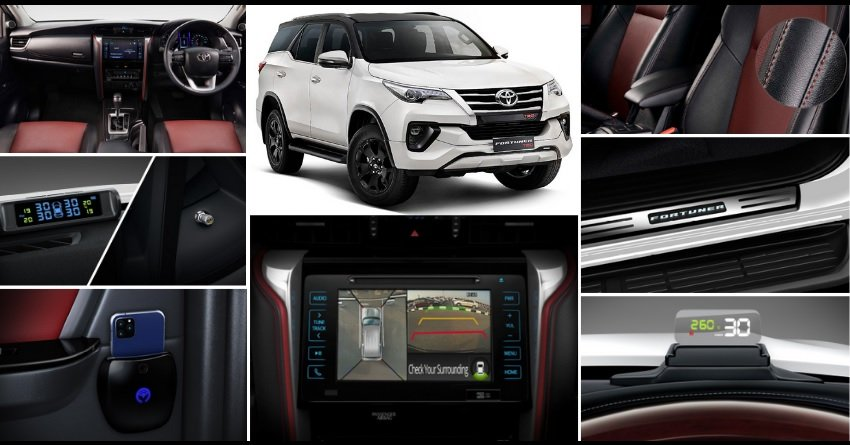 Toyota Fortuner TRD Limited Edition mạnh mẽ và tân tiến.