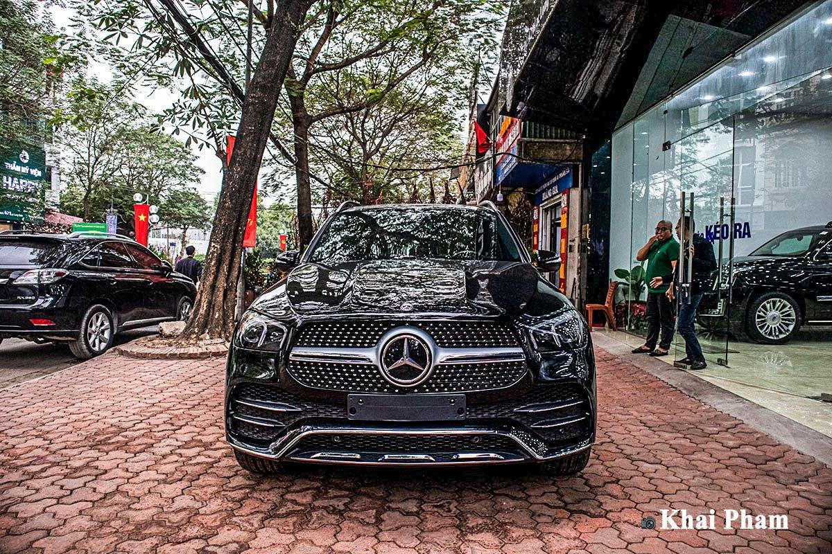 Ảnh đầu xe Mercedes-Benz GLE 2020