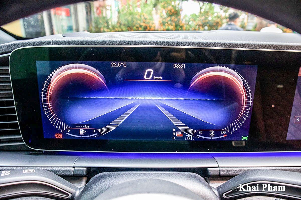 Ảnh Đồng hồ xe Mercedes-Benz GLE 2020