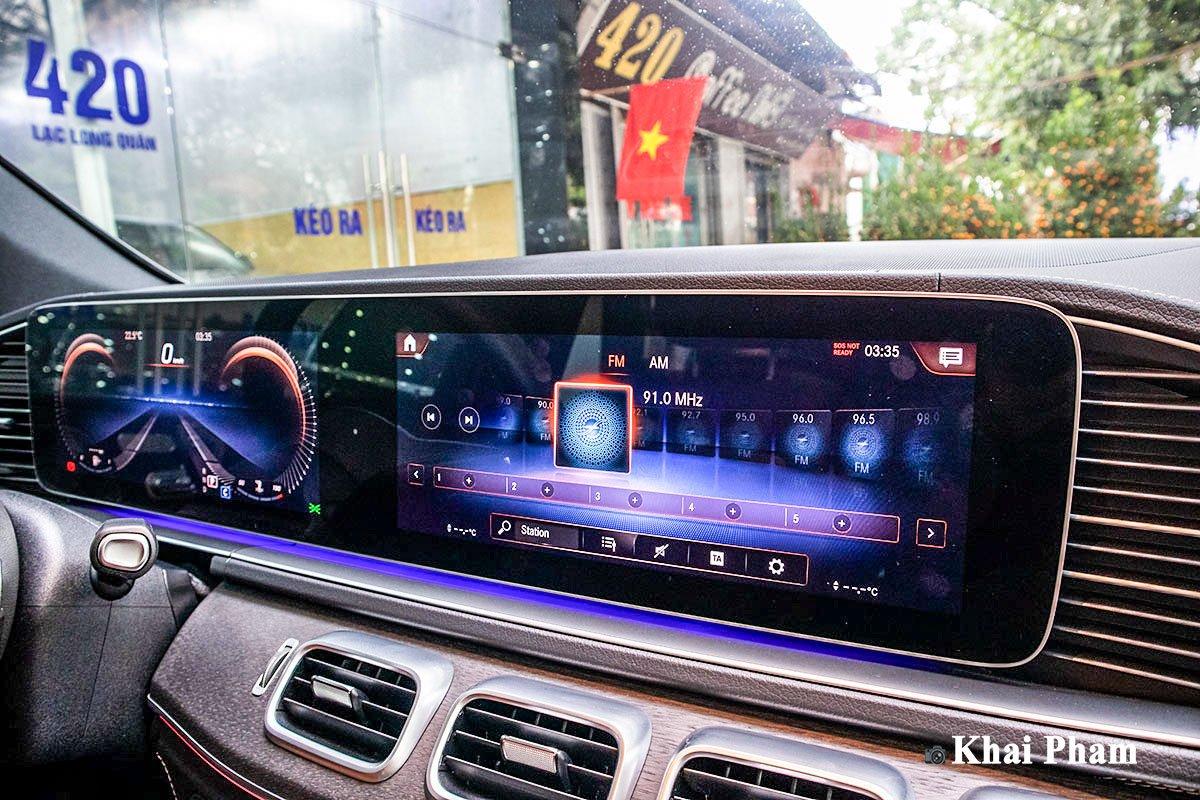 Ảnh Màn hình xe Mercedes-Benz GLE 2020