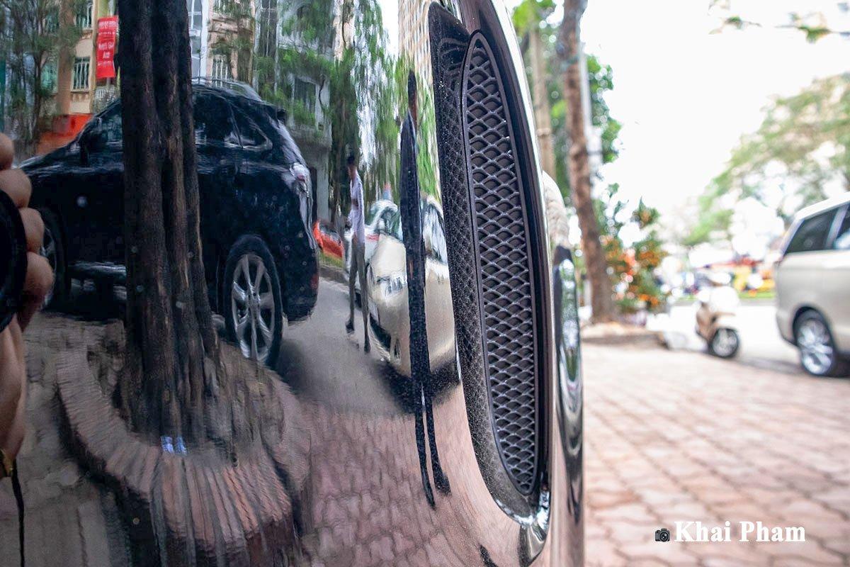 Ảnh hốc gió xe Mercedes-Benz GLE 2020