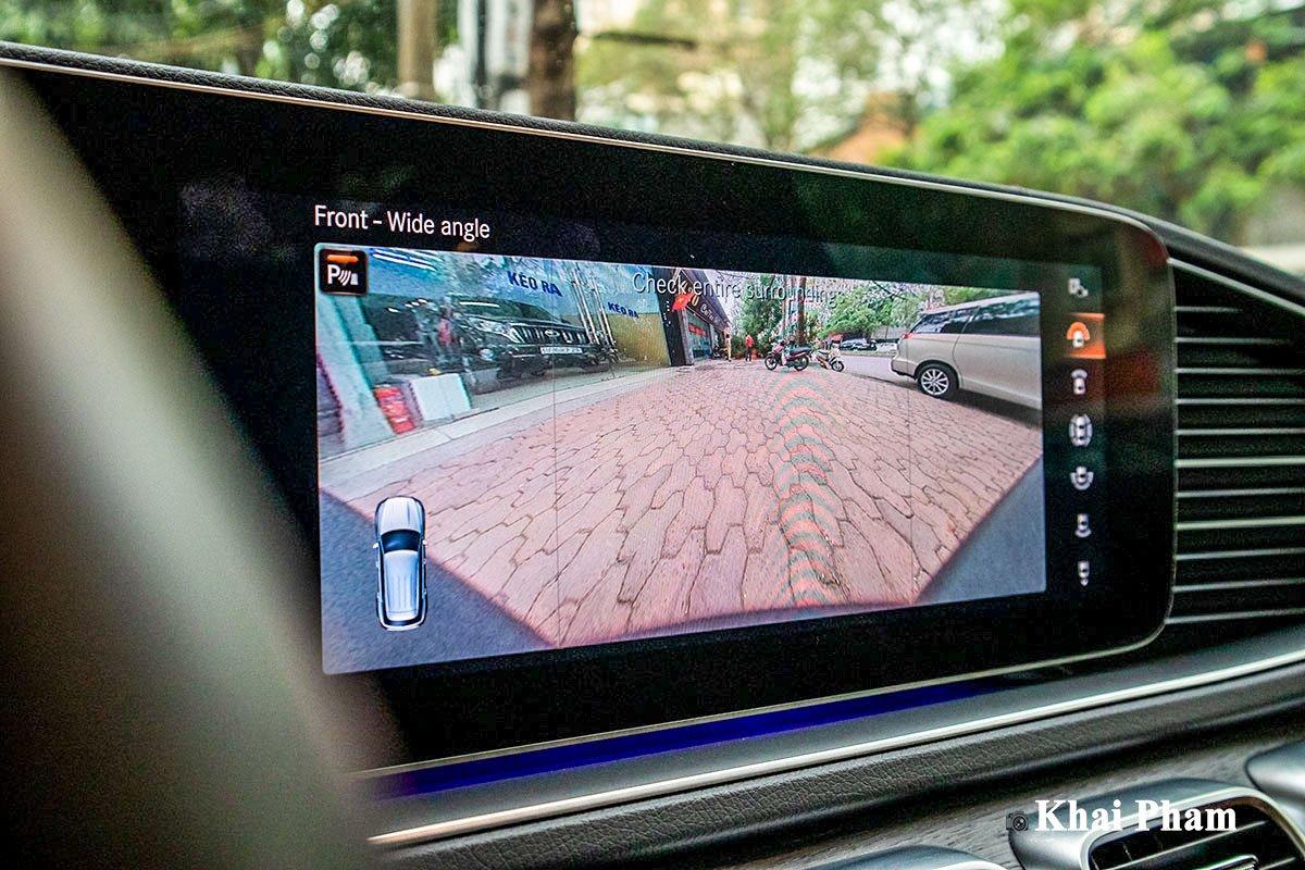 Ảnh Camera 360 độ xe Mercedes-Benz GLE 2020
