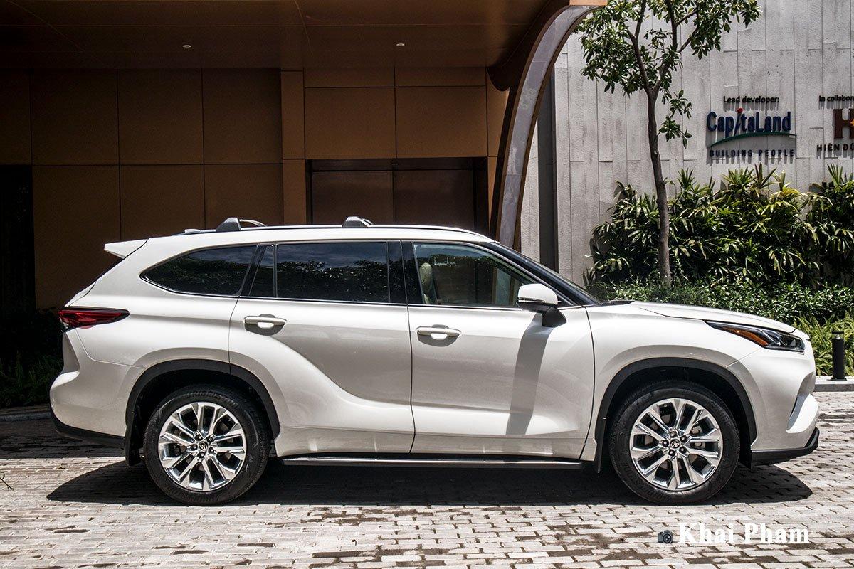 Ảnh Thân xe Toyota Highlander 2020