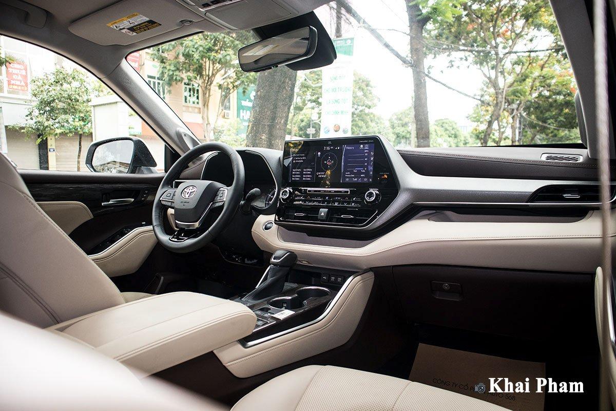 Ảnh Táp-lô xe Toyota Highlander 2020