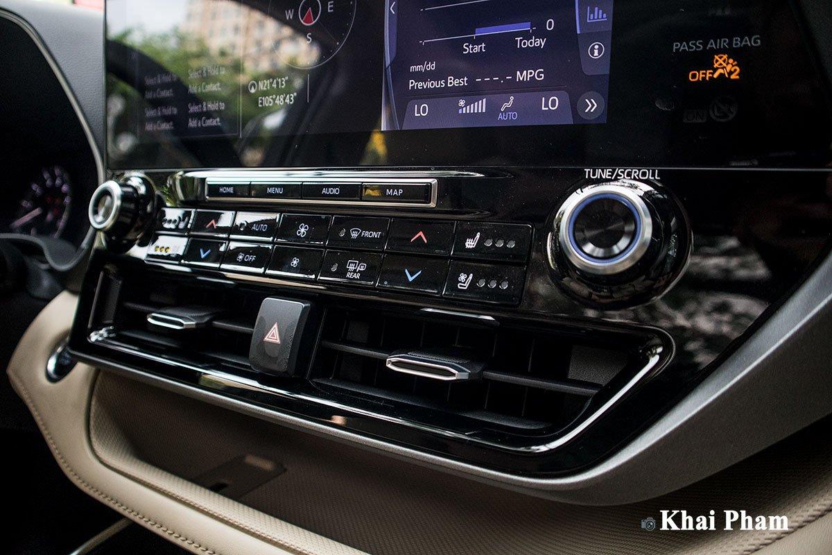 Ảnh Điều hoà xe Toyota Highlander 2020