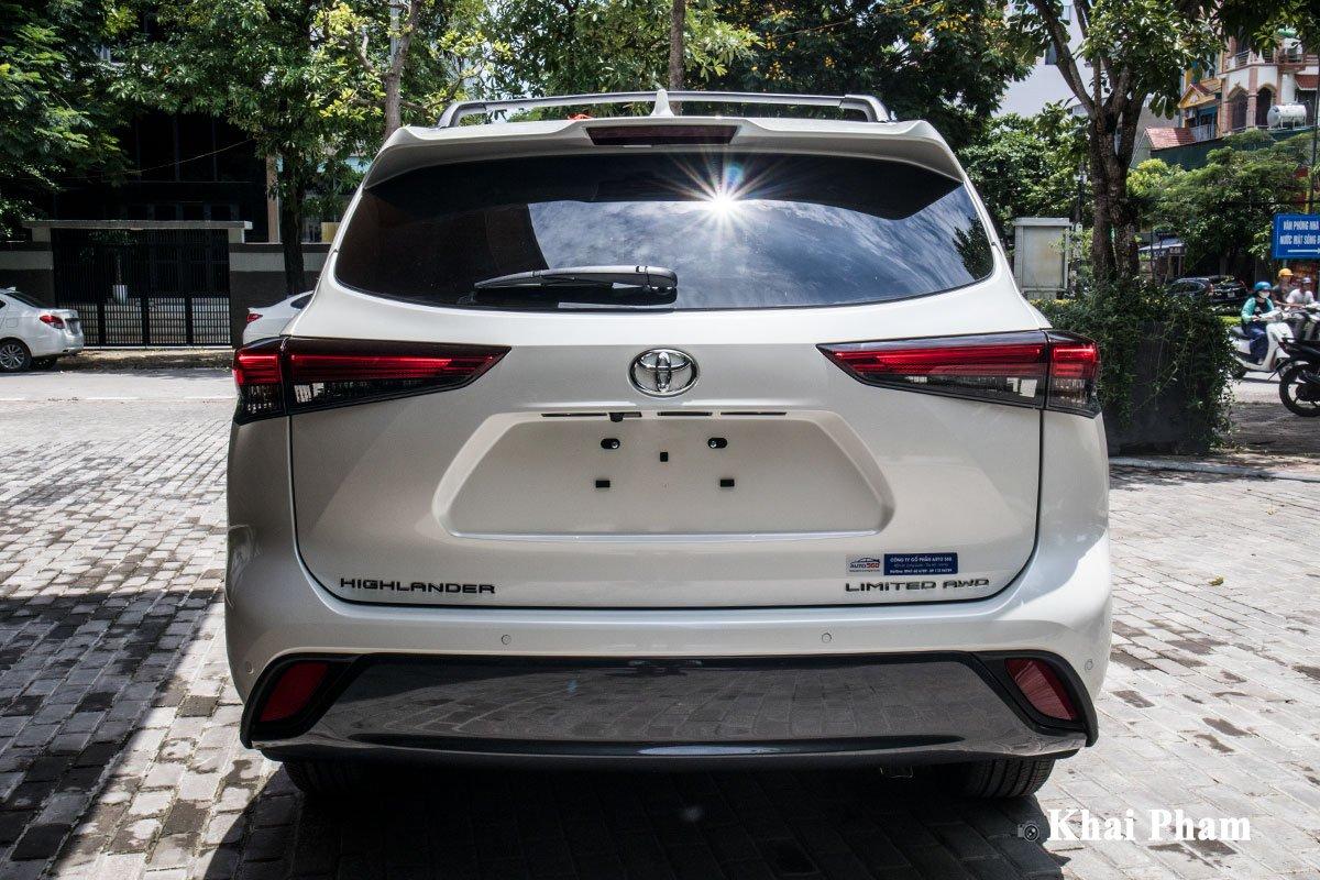 Ảnh Đuôi xe Toyota Highlander 2020