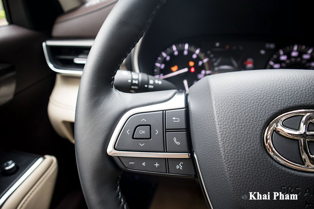 Ảnh Nút bấm xe Toyota Highlander 2020