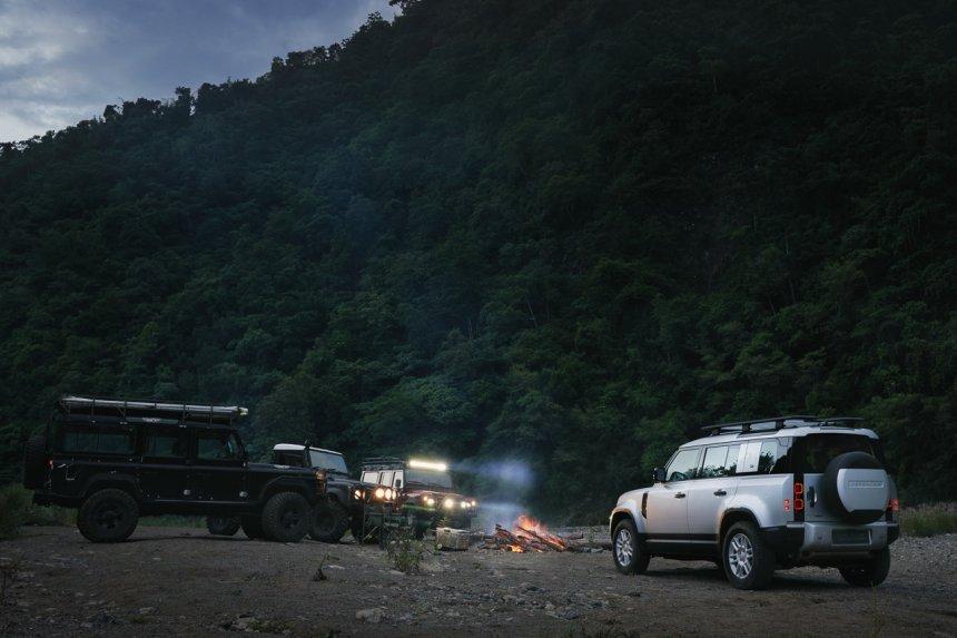 Land Rover Defender 2021 là lựa chọn hoàn hảo cho những chuyến đi xa.