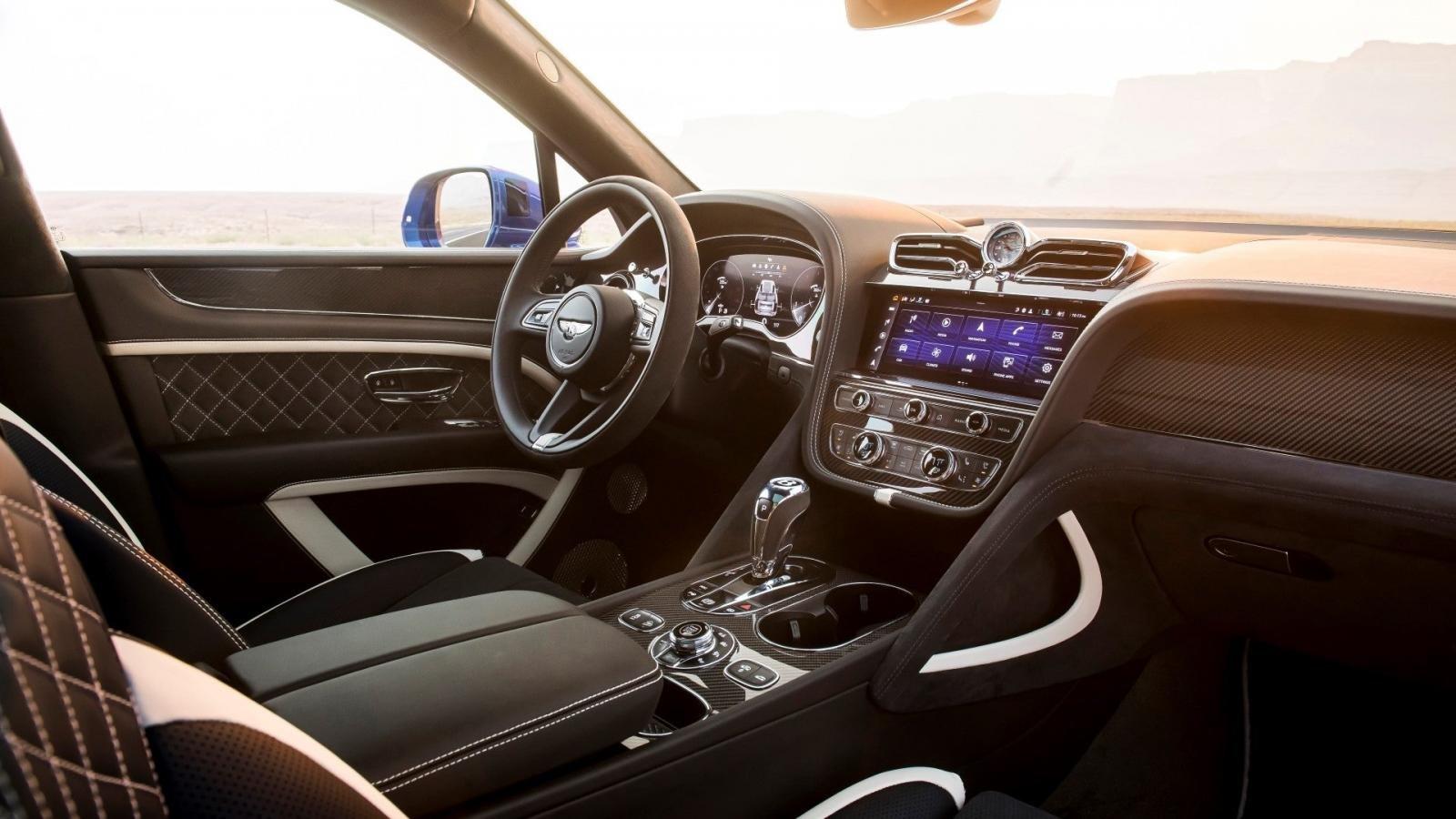 SUV siêu sang Bentley Bentayga Speed 2021 hứa hẹn trải nghiệm tuyệt đỉnh.