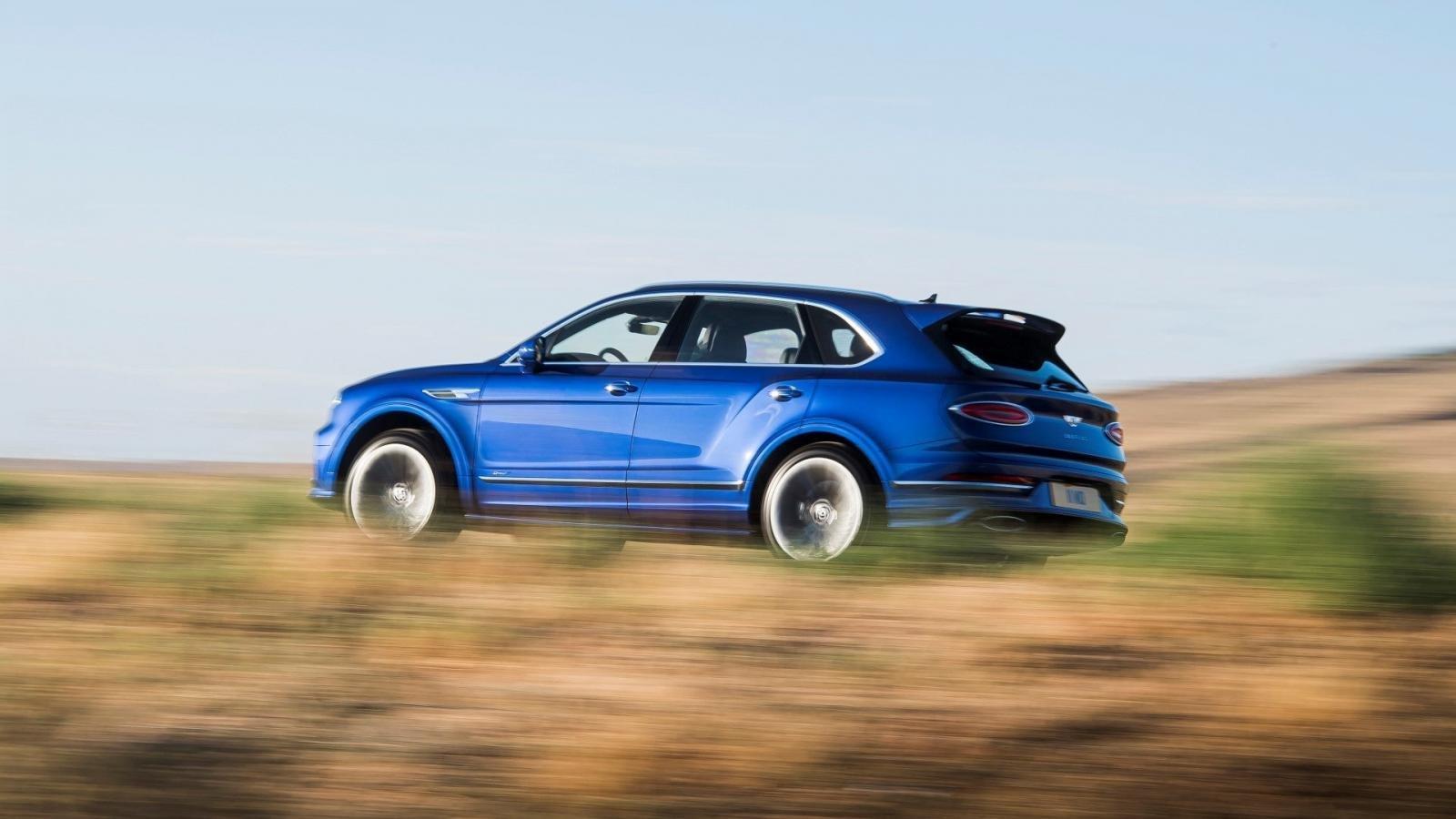 SUV siêu sang Bentley Bentayga Speed 2021 hấp dẫn tột độ.