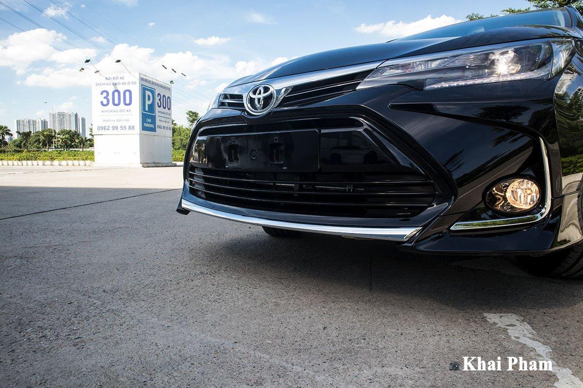 Ảnh Cản trước xe Toyota Corolla Altis 2020