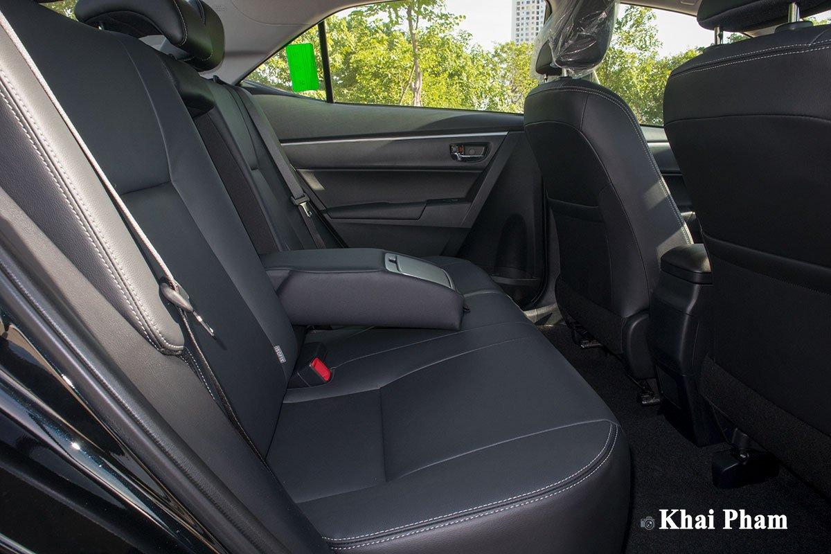 Ảnh Ghế sau xe Toyota Corolla Altis 2020 1a