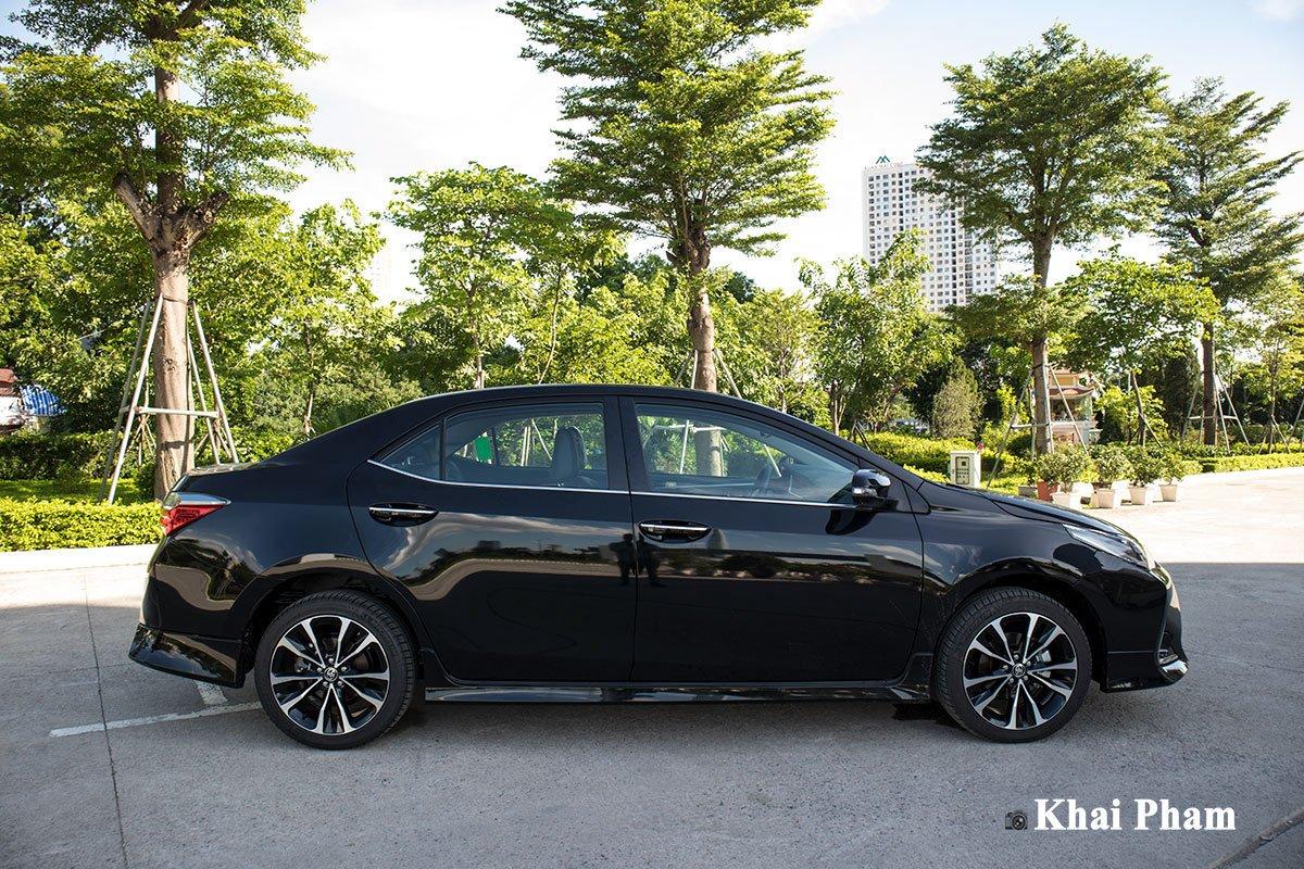 Ảnh chính diện Thân xe Toyota Corolla Altis 2020