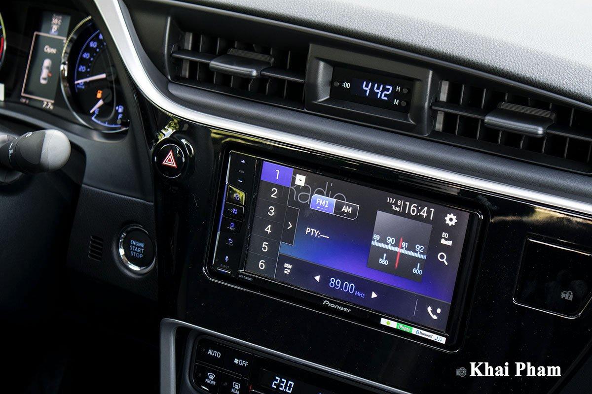 Ảnh Màn hình giải trí xe Toyota Corolla Altis 2020