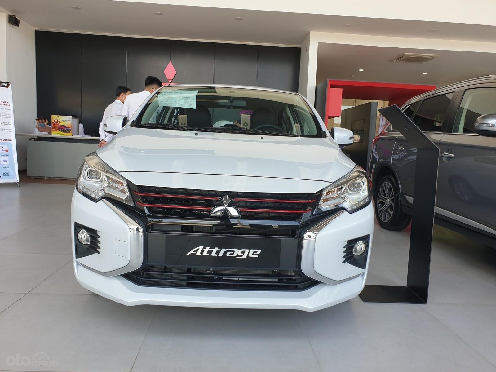 Mitsubishi Attrage 2020 - 5 chỗ - xe nhập Thái Lan, được hỗ trợ 50% trước bạ (3)