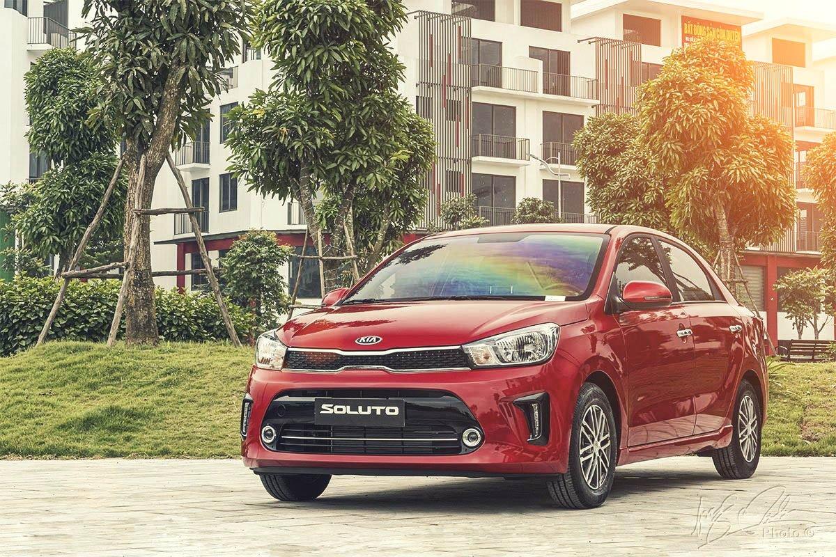 Kia Soluto AT Luxury mới ra mắt thị trường Việt hồi tháng 03/2020 1