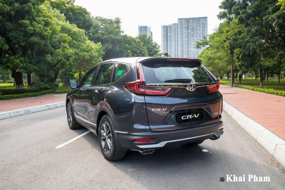 Chi tiết ngoại thất Honda CR-V 2021.