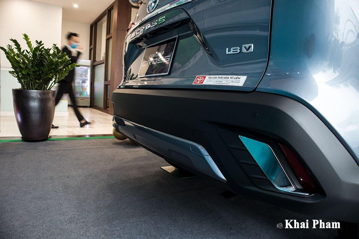 Chi tiết xe Toyota Corolla Cross 2020 vừa cập bến đại lý giá 820 triệu đồng a15