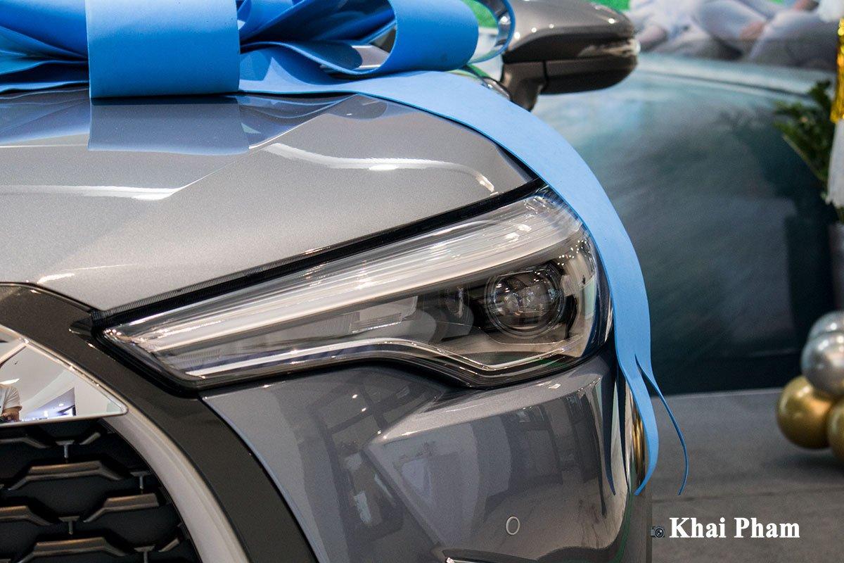 Chi tiết xe Toyota Corolla Cross 2020 vừa cập bến đại lý giá 820 triệu đồng a5