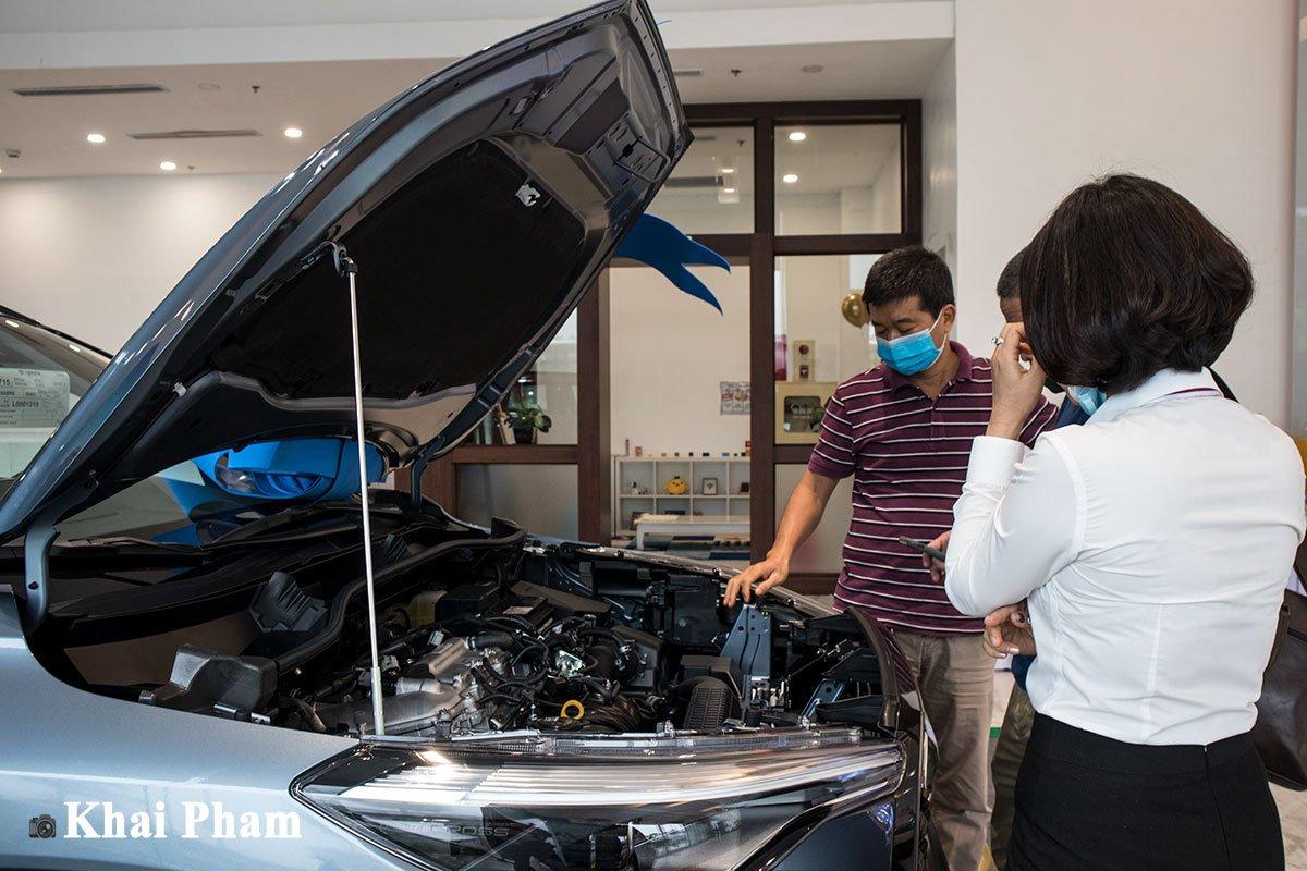 Toyota Corolla Cross 2020 về đại lý, khách hàng trải nghiệm nói gì? a7