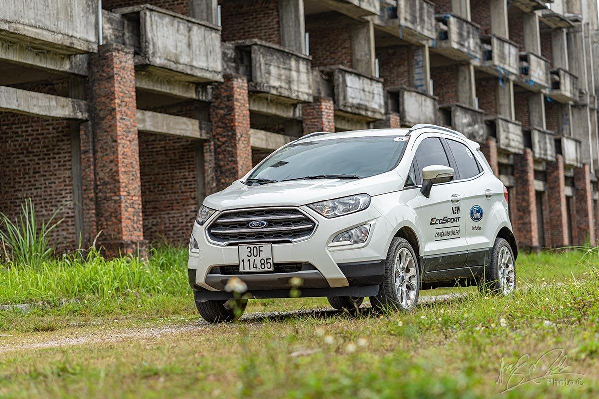 Ford EcoSport - đối thủ của Toyota Corolla Cross.