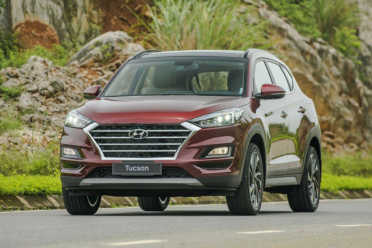 Hyundai Tucson - đối thủ của Toyota Corolla Cross.