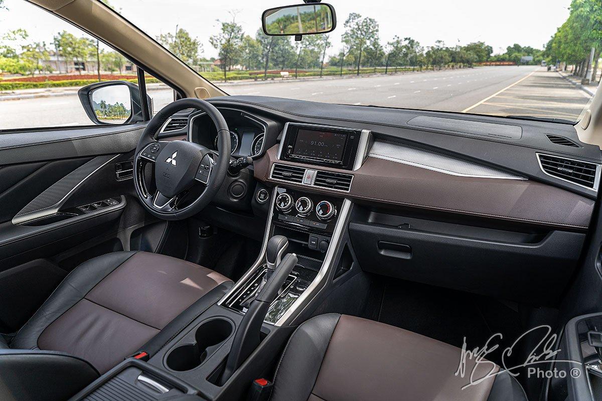Nội thất của Mitsubishi Xpander Cross 2020.