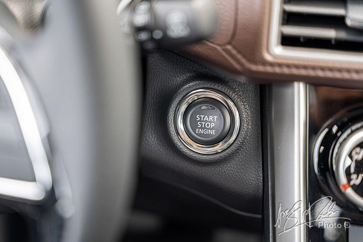 Nút bấm khởi động trên Mitsubishi Xpander Cross 2020.