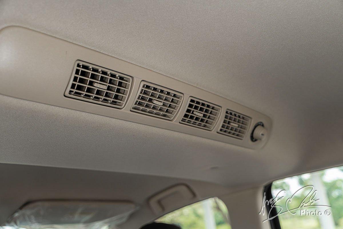 Cửa gió điều hoà hàng ghế sau trên Mitsubishi Xpander Cross 2020.