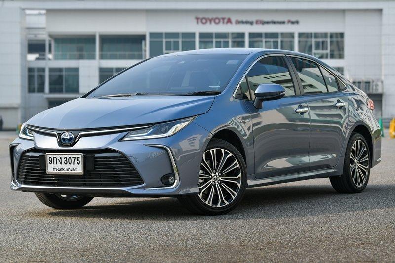 Ảnh Thân xe Toyota Corolla Altis 2021