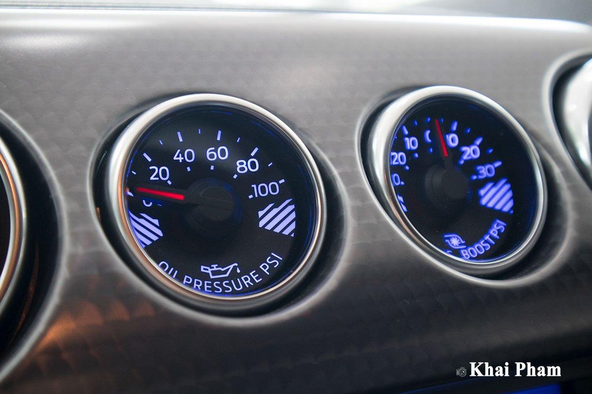 Ảnh đồng hồ xe Ford Mustang High Performance 2020