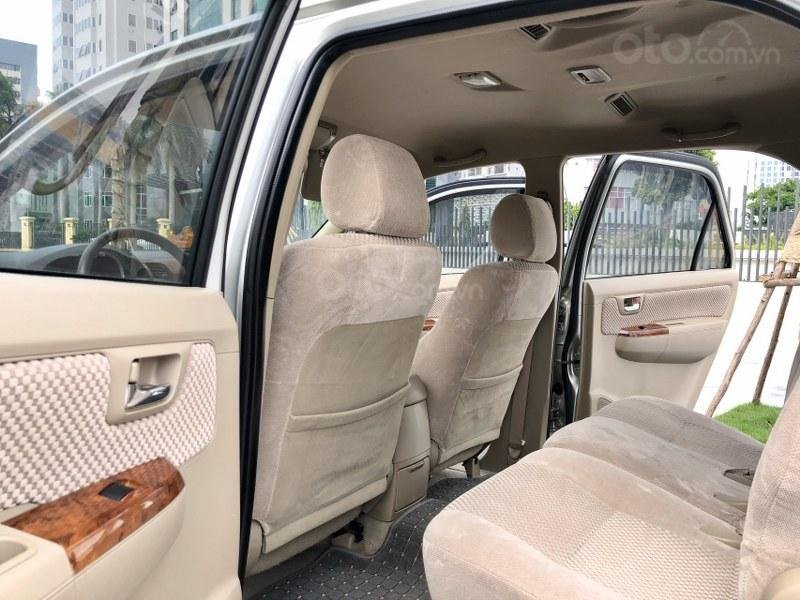 Bán Toyota Fortuner 2011, màu bạc, nhập khẩu nguyên chiếc chính chủ, giá tốt (6)