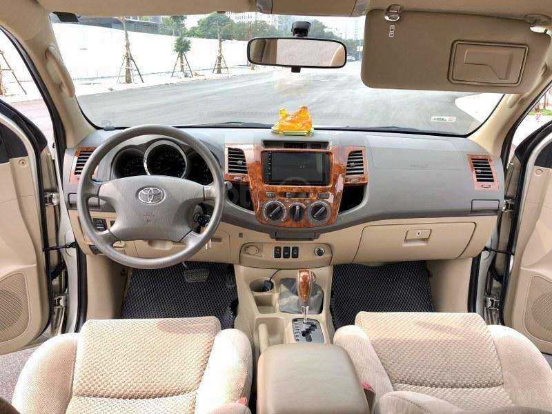 Bán Toyota Fortuner 2011, màu bạc, nhập khẩu nguyên chiếc chính chủ, giá tốt (8)