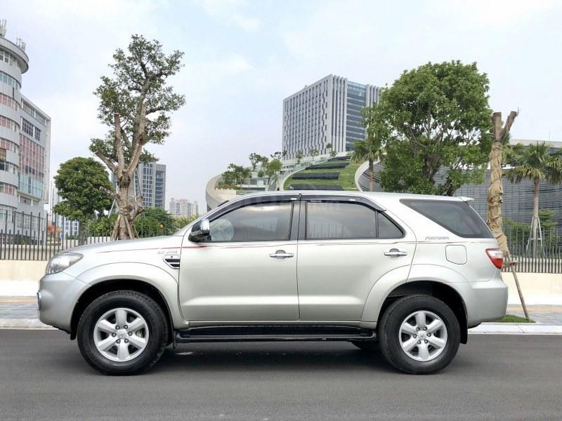 Bán Toyota Fortuner 2011, màu bạc, nhập khẩu nguyên chiếc chính chủ, giá tốt (12)