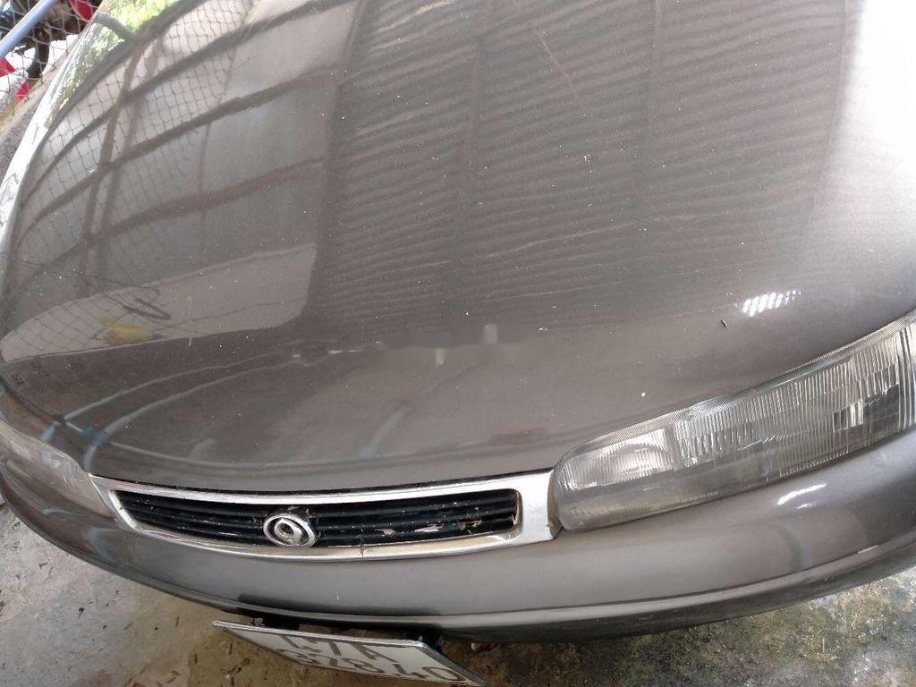 Cần bán gấp Mazda 626 năm sản xuất 1996, màu xám chính chủ, 99 triệu (4)