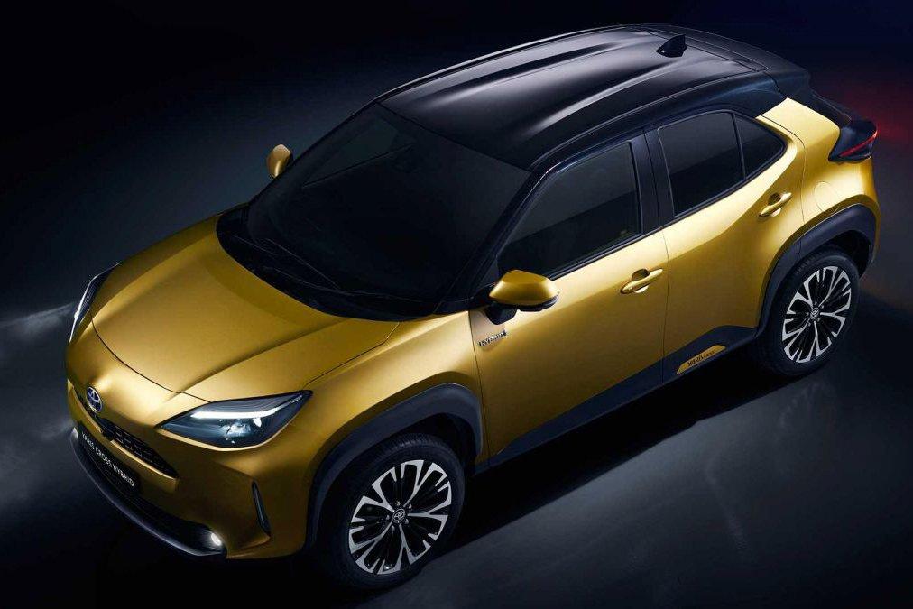 Đánh giá xe Toyota Yaris Cross 2021 về thiết kế đầu xe - Ảnh 1.
