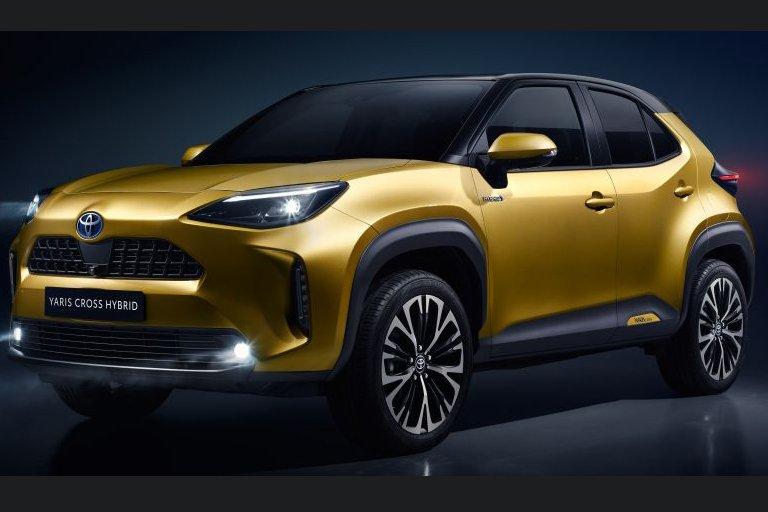 Đánh giá xe Toyota Yaris Cross 2021 về thiết kế đầu xe.